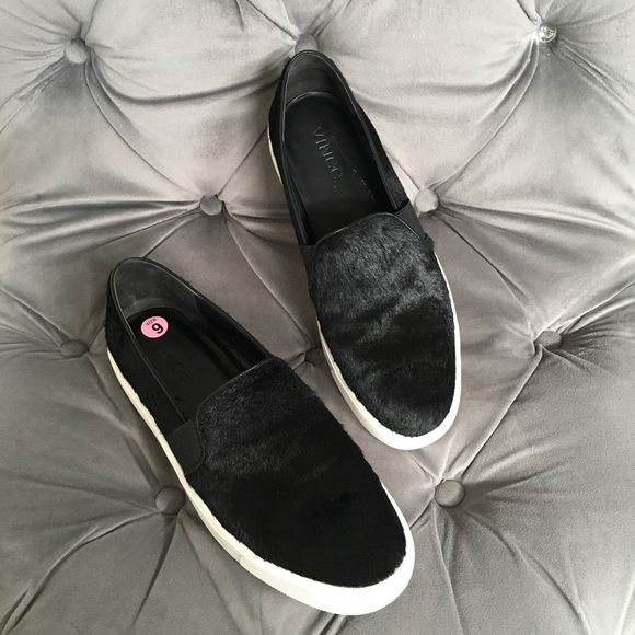 Vince Shoes - VINCE Blair Calfhair Slip On Sneaker